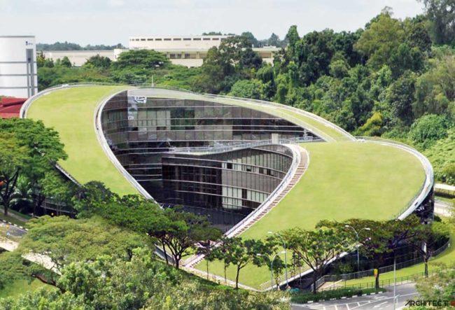 طراحی دانشگاه تکنولوژی Nanyang توسط شرکت معماری CPG