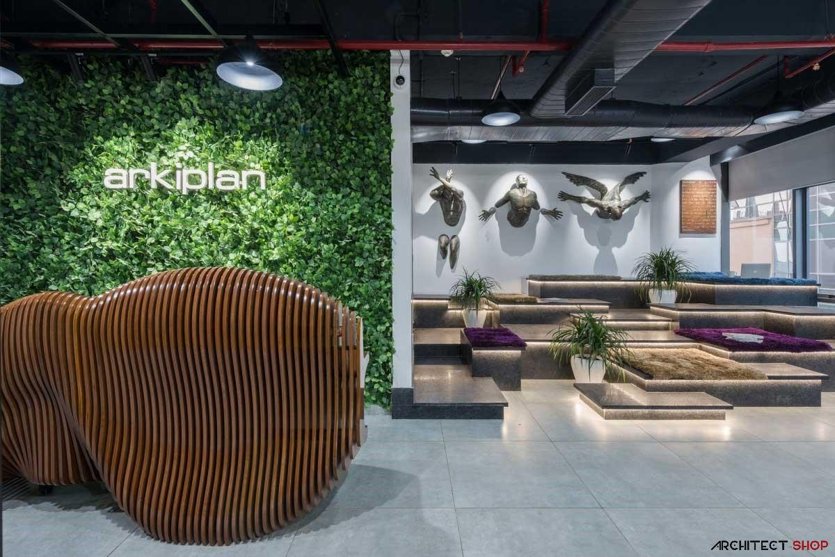 دفتر کار شرکت Arkiplan