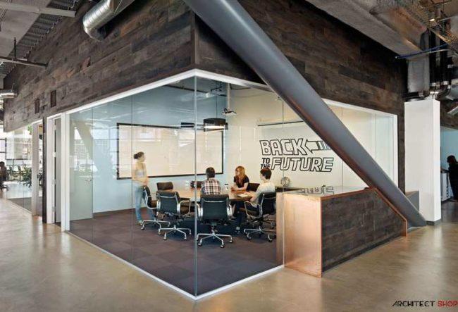 طراحی ساختمان اداری شرکت DROPBOX در سان فرانسیسکو