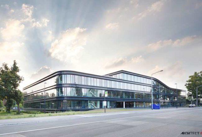 طراحی ساختمان اداری شرکت Teambank توسطاستودیو معماری Evolution Design