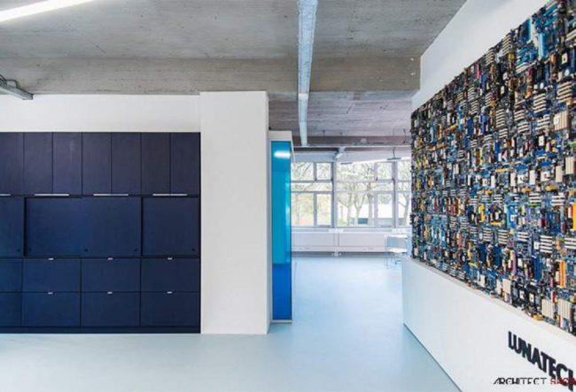 طراحی دفتر کار Lunatech Labs در آمستردام
