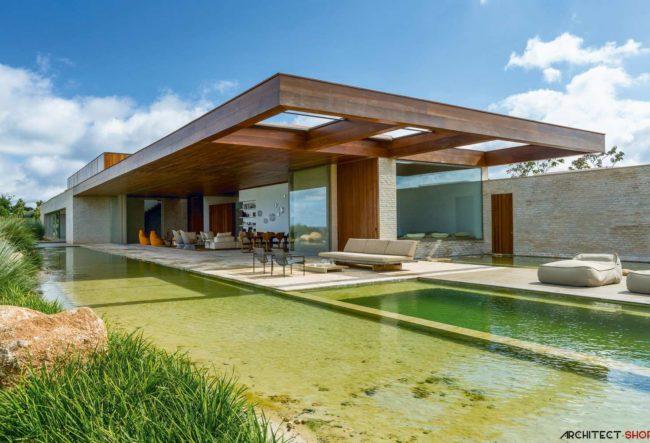 طراحی خانه ییلاقی MS توسط استودیو معماری Arthur Casas