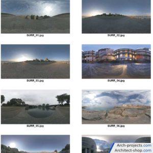 تصاویر HDRI با کیفیت