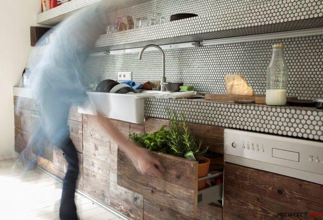 ایده های طراحی کانتر آشپزخانه و حمام با استفاده از کاشی