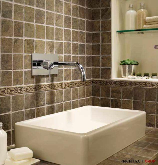 ایده های طراحی کانتر آشپزخانه و حمام با استفاده از کاشی - Tile counter 12