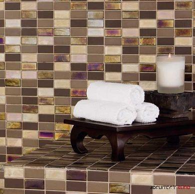 ایده های طراحی کانتر آشپزخانه و حمام با استفاده از کاشی - Tile counter 7