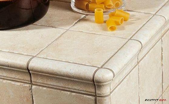 ایده های طراحی کانتر آشپزخانه و حمام با استفاده از کاشی - Tile counter 9