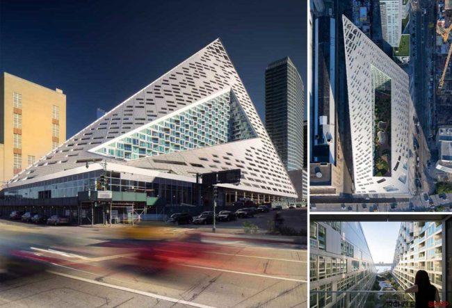 طراحی مجتمع مسکونی VIΛ 57 West توسط گروه معماری BIG