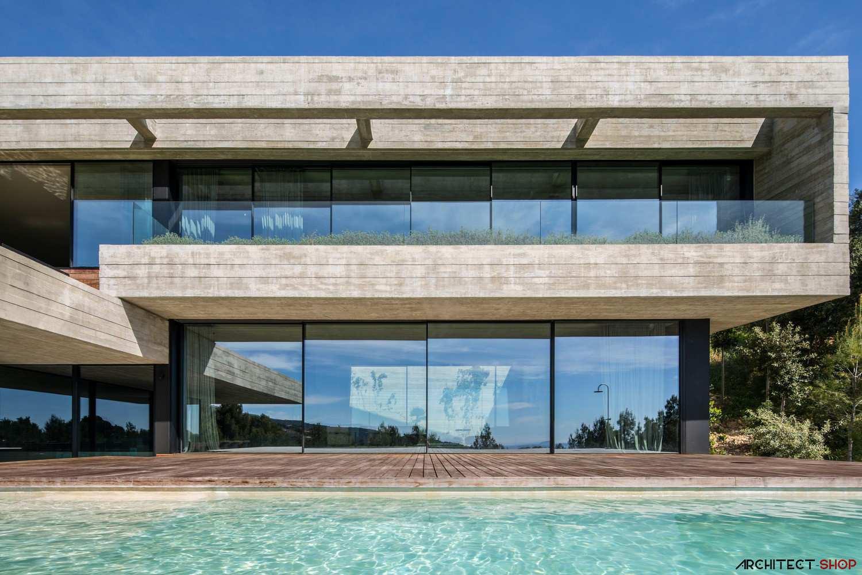 طراحی خانه ویلایی در اسپانیا