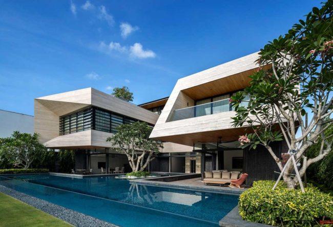 طراحی ویلا Forever توسط گروه معماری Wallflower and Design