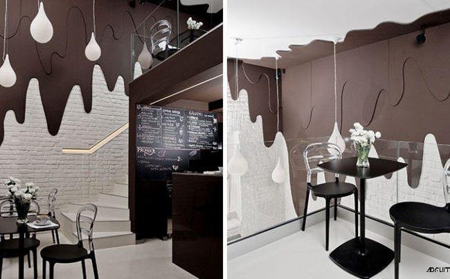 طراحی خلاقانه کافه و فروشگاه شکلات توسط استودیوی طراحی Bro.Kat