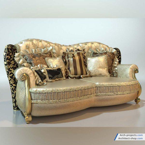 پک آبجکت دکوراسیون کلاسیک - classic decoration 12 600x600