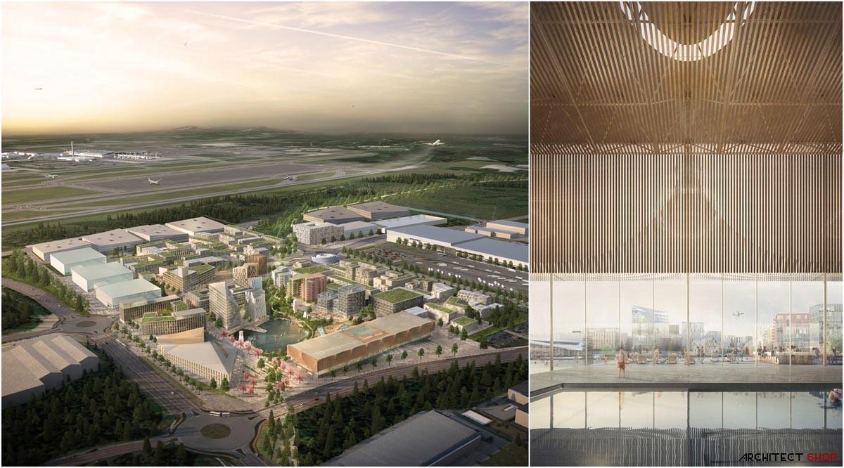 شهر فرودگاهی پایدار جهان