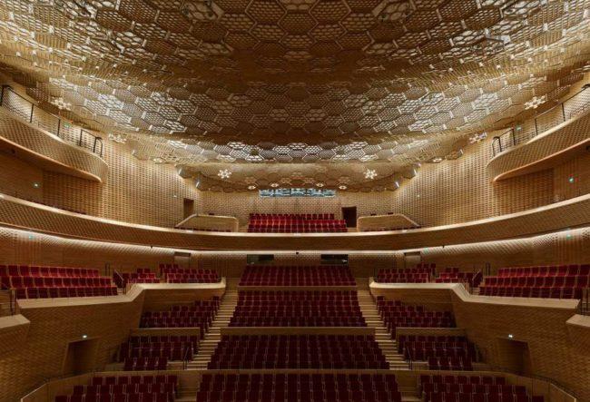 طراحی سالن کنسرت نوای رود سن (La Seine Musicale)