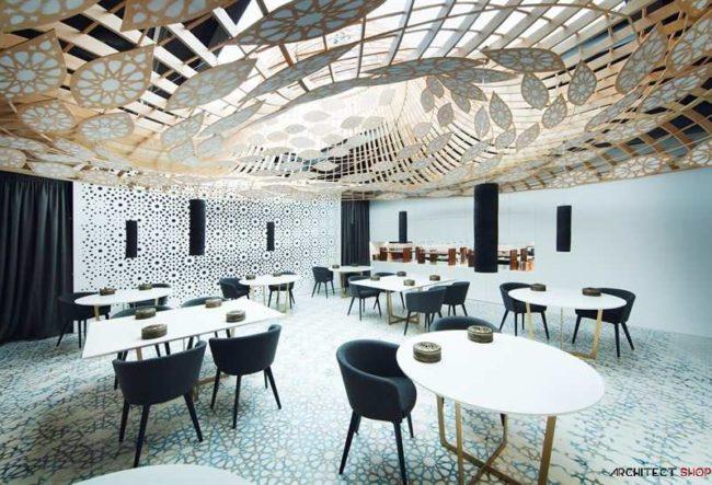 طراحی خلاقانه رستوران Noor توسط شرکت معماری GG Architects