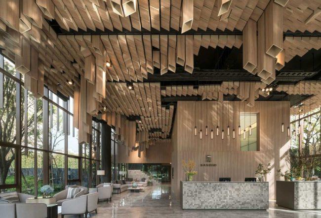 طراحی گالری حراج Oka Haus