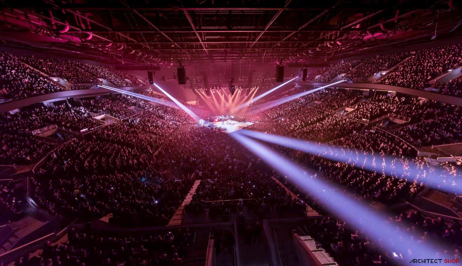 طراحی سالن کنسرت