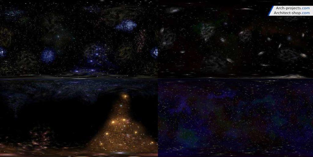 دانلود HDRI فضا