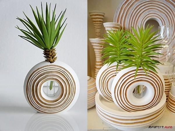 50 گلدان دکوری منحصر بفرد برای زیبایی خانه ی شما - unique decorative vases 18