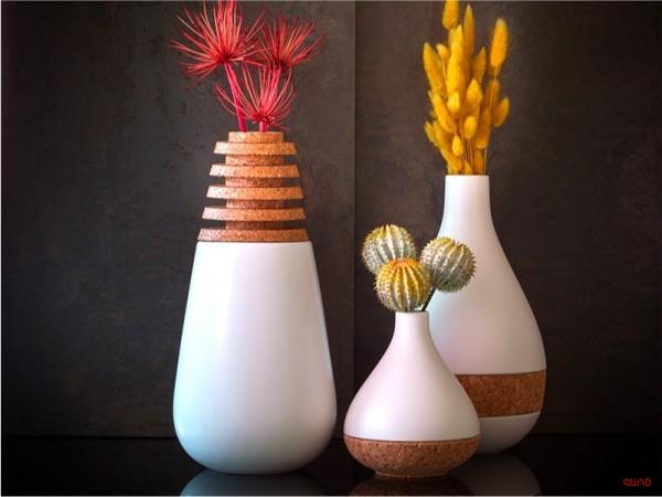 50 گلدان دکوری منحصر بفرد برای زیبایی خانه ی شما - unique decorative vases 41