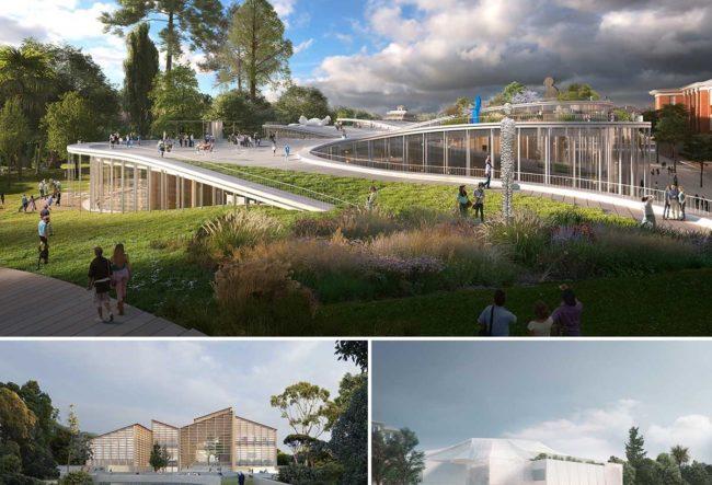 طراحی موزه معاصر Adelaide در استرالیا