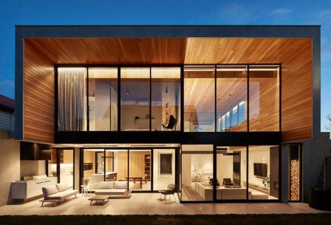 طراحی ویلا توسط گروه معماری FRG