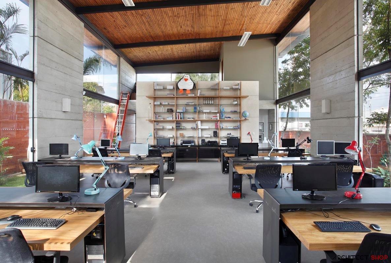 10 نمونه طراحی دفتر کار معماری - Architecture Offices 24