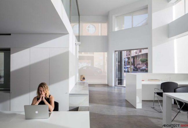 طراحی دفتر کار Cointec در اسپانیا
