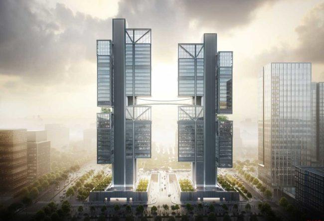 طراحی برج DJI توسط نورمن فاستر