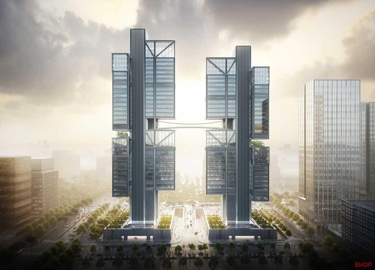 طراحی مفهومی برج