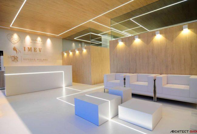 طراحی کلینیک پوست توسط استودیو معماری Estudio EMEalCUBO