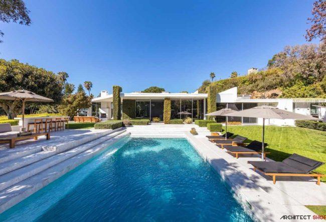 طراحی ویلا در کالیفرنیا
