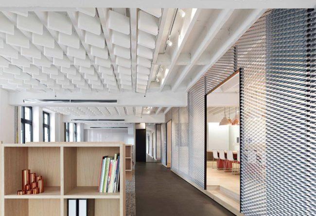 طراحی دفتر کار شرکت Movet در آلمان