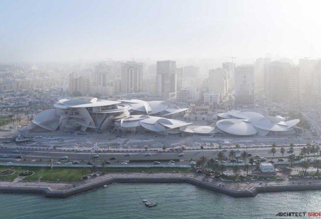 طراحی موزه معاصر در قطر