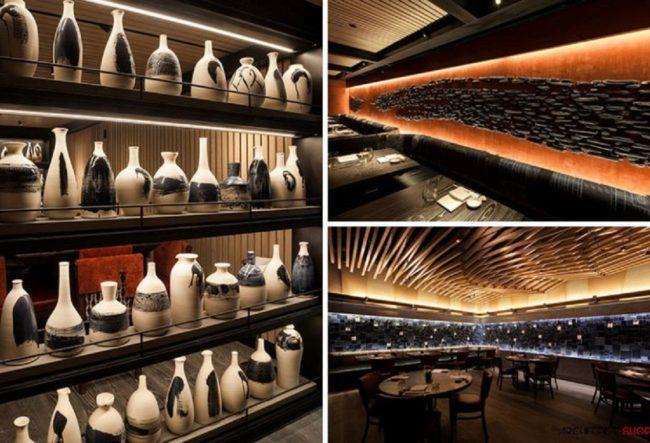 طراحی رستوران Nobu در نیویورک