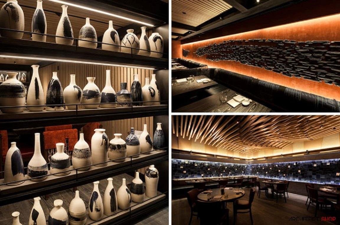 طراحی رستوران Nobu در نیویورک - Nobu restaurant 9
