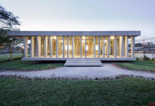 طراحی سفارت خانه سوئیس توسط گروه معماری LOCAL ARCHITECTURE
