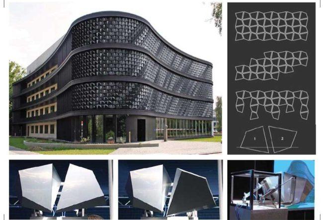 طراحی نمای متحرک FLARE توسط شرکت WHITEvoid