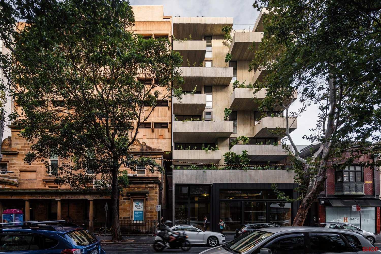 آپارتمان مسکونی با تراس های گسترده