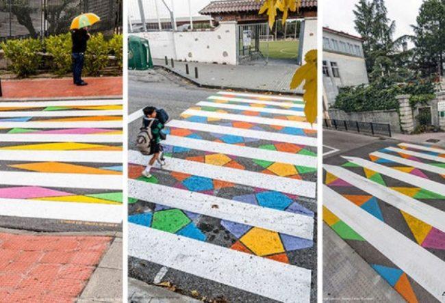 طراحی گذرگاه عابر پیاده در اسپانیا