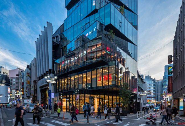 طراحی ساختمان اداری تجاری در توکیو
