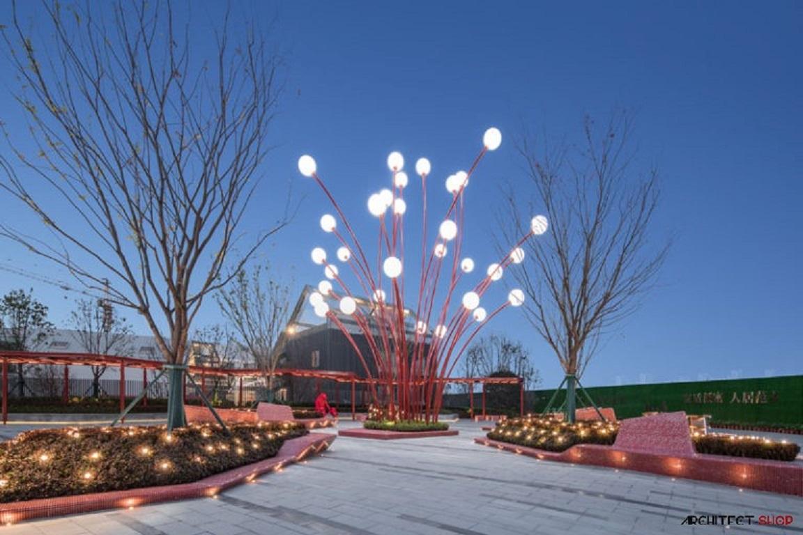 طراحی المان مدرن در پارک - modern landscaping park 16