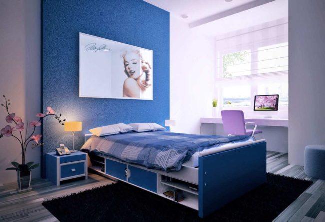 30 اتاق خواب آبی رنگ که آرامش و آسودگی را به فضای خواب شما می بخشند