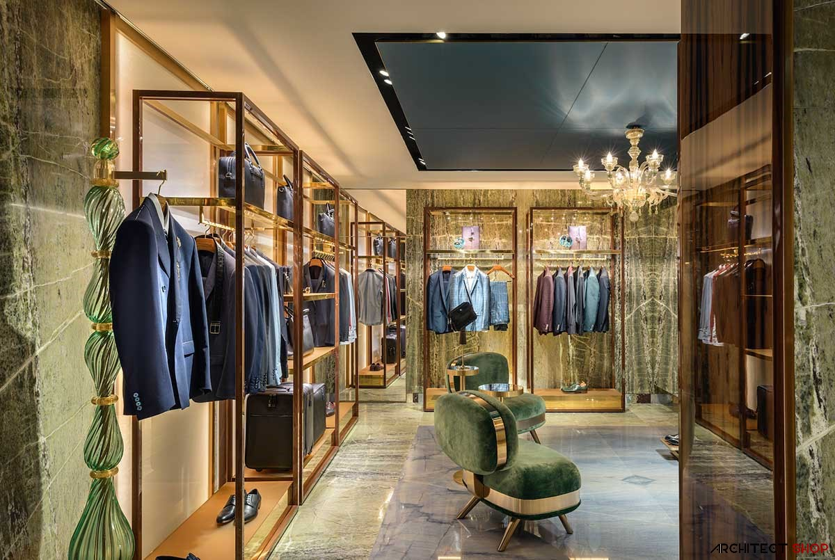 طراحی فروشگاه کلاسیک