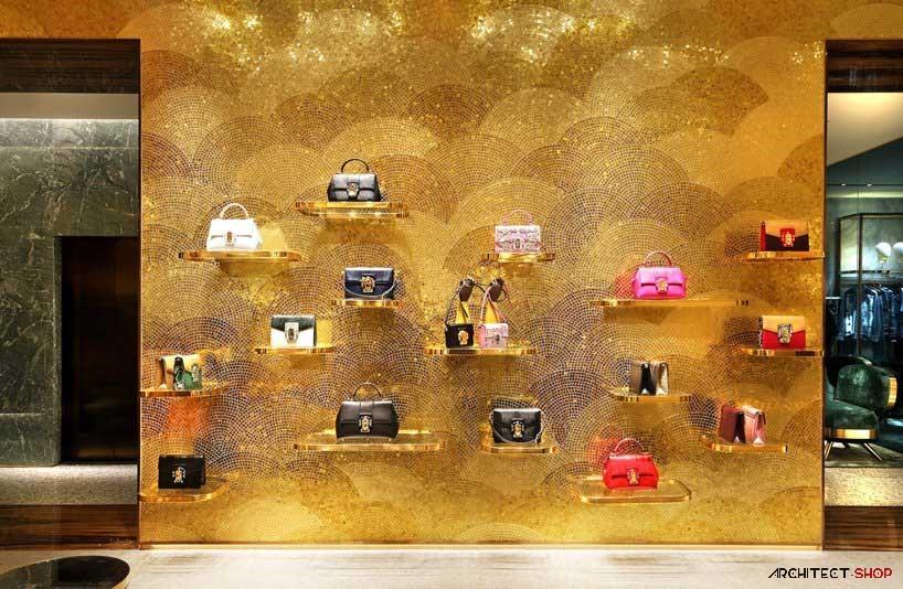طراحی فروشگاه لوکس برند های دولچه و گابانادر ایتالیا - Dolce Gabbana Stores 6