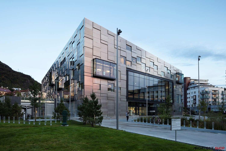 طراحی دانشکده هنرهای زیبا در نروژ - Faculty of Fine Art Bergen 2