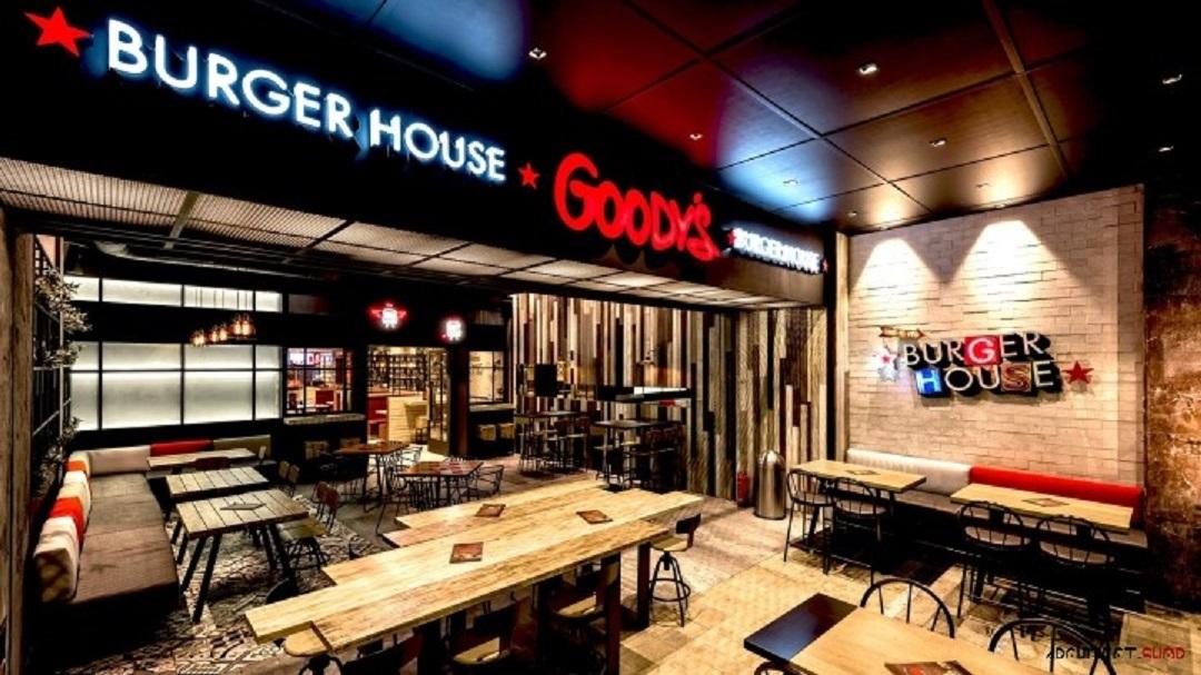 طراحی داخلی فست فود در یونان - Goody's Burger House fast food 11