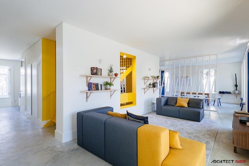 فضای اقامتی مدرن