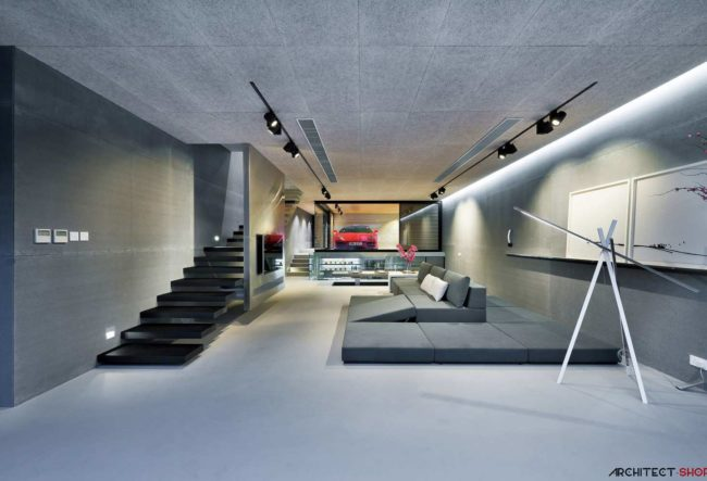 طراحی خانه مدرن در هنگ کنگ