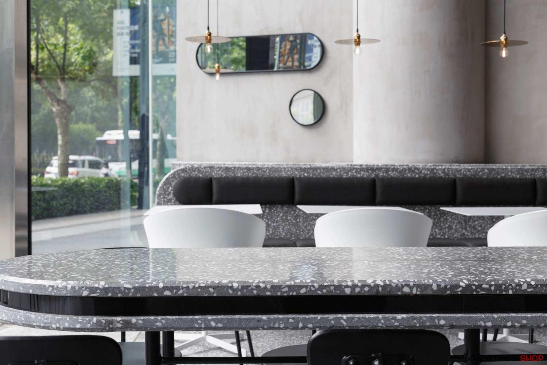 طراحی کافه رستوران در چین - JOY BOX Restaurant 10